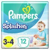 Памперс-трусы/для плавания Splashers Junior-Midi-Maxi 6-11кг 12шт.
