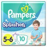 Памперс-трусы/для плавания Splashers Junior-Extra Larqe 14+кг 10шт.